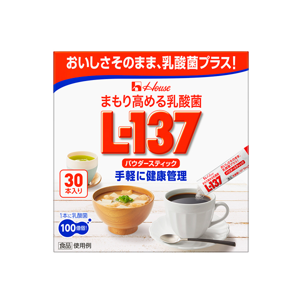 まもり高める乳酸菌L-137 パウダースティック 1.3g×30本入