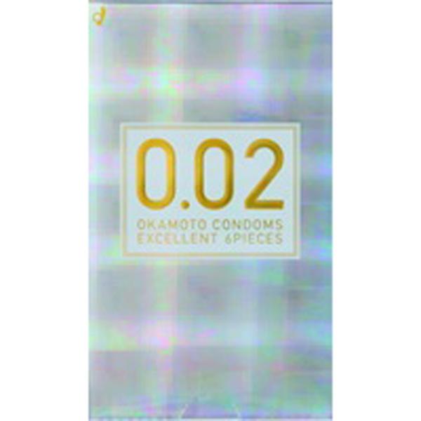 オカモト ゼロツー うすさ均一0.02EX (6コ入) R 6コ入り 【管理医療機器】