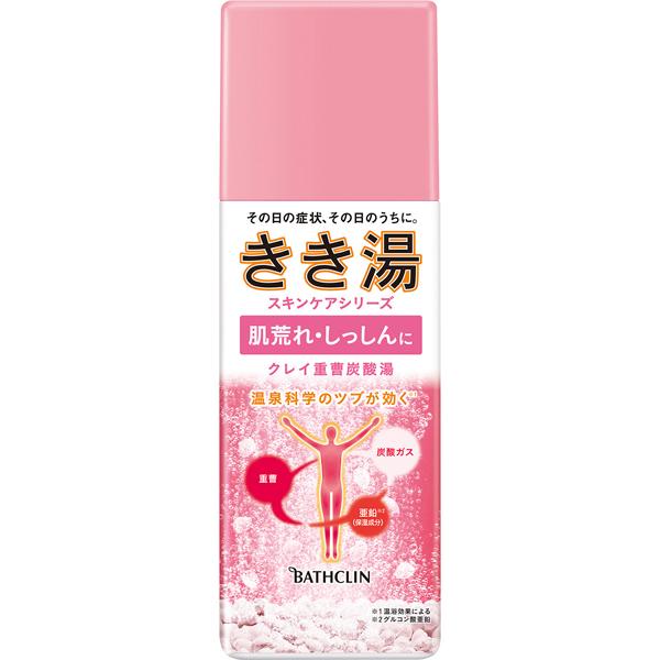 きき湯 クレイ重曹炭酸湯 360g (医薬部外品)