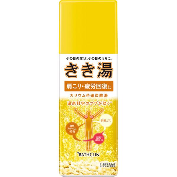 きき湯 カリウム芒硝炭酸湯 360g (医薬部外品)