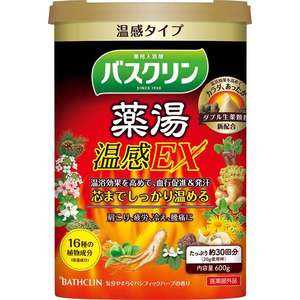 バスクリン 薬湯 温感EX 600g (医薬部外品)