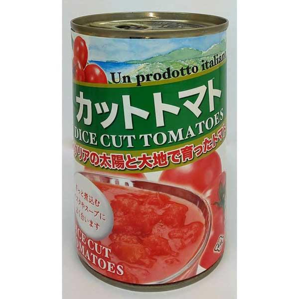 朝日 カットトマト缶 400g×24個入り (1ケース) (KK)