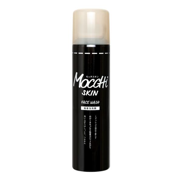 モッチスキン 吸着泡洗顔ブラック 炭 150g