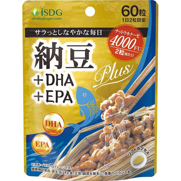 納豆+DHA+EPA 60粒