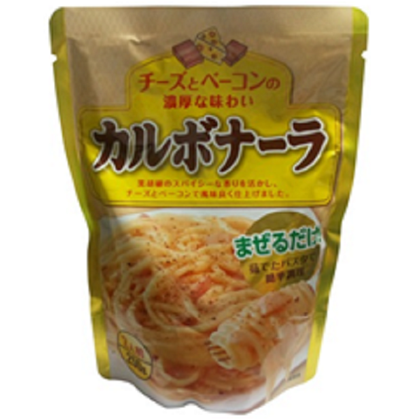 ひかり食彩 パスタソース[カルボナーラ] 250g 12個入り×1ケース 【クレジット決済のみ】KK