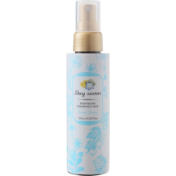 デイサボン ボディ&ヘアミスト フローラルサボン 華やかな石鹸の香り 120ml [化粧水]