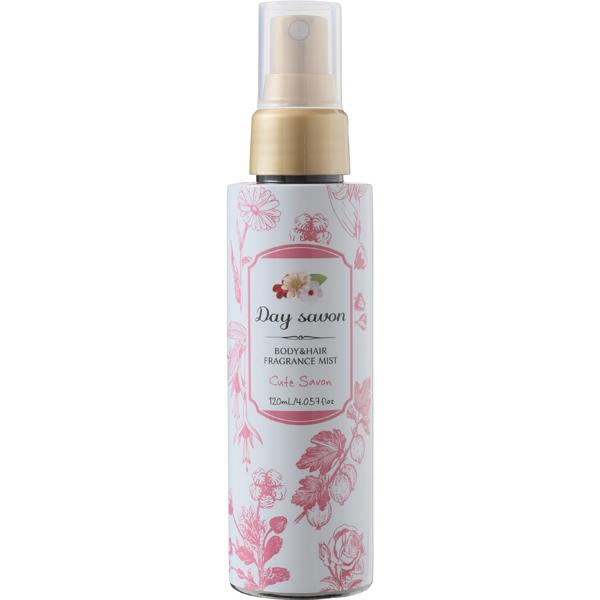 デイサボン ボディ&ヘアミスト キュートサボン 甘い石鹸の香り 120ml [化粧水]
