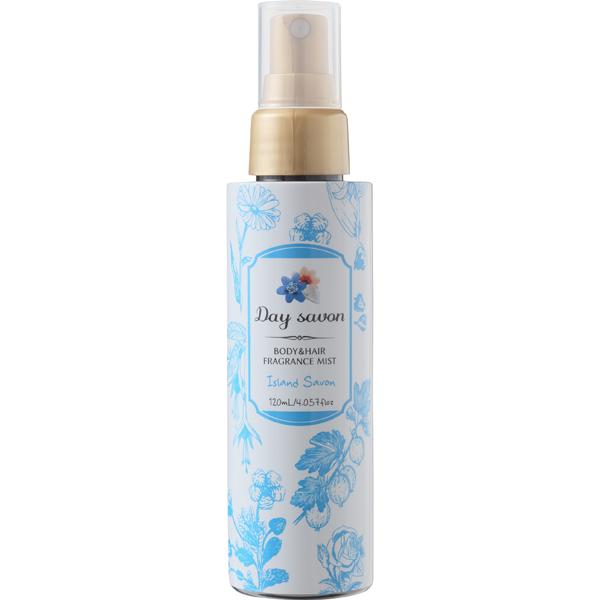 デイサボン ボディ&ヘアミスト アイランドサボン フルーティな石鹸の香り 120ml [化粧水]