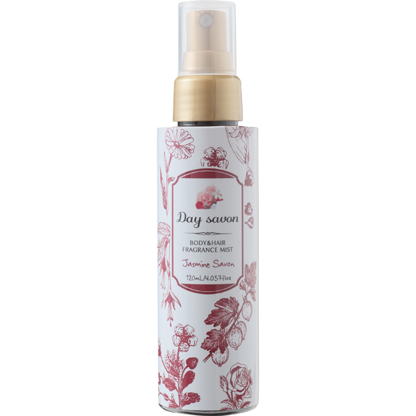 デイサボン ボディ&ヘアミスト ジャスミンサボン 花々に包まれる清涼感ある石鹸の香り 120ml [化粧水]