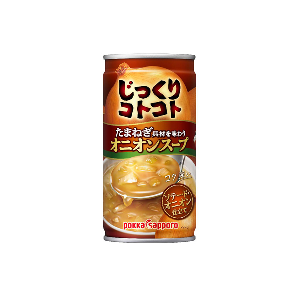 ポッカサッポロ じっくりコトコトオニオンスープ 190g×30本入り (1ケース) (MS)