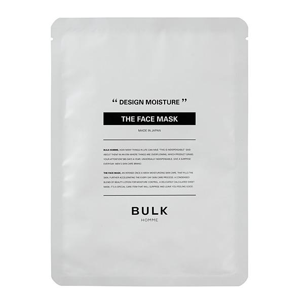 BULK HOMME(バルクオム) THE FACE MASK ザ フェイスマスク(美容液マスク)1枚入