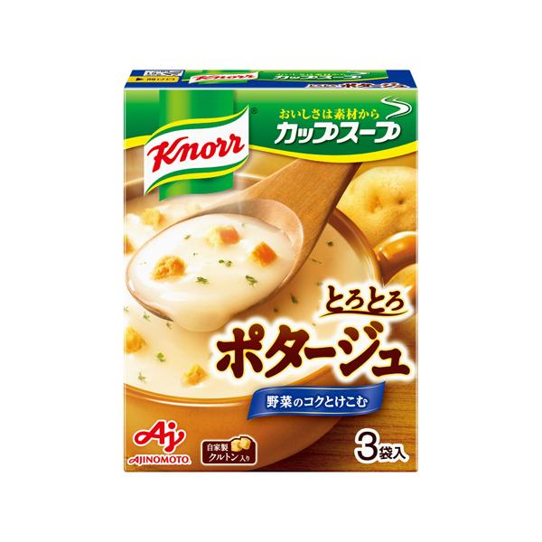 味の素 クノ-ルカップスープポタージュ 51.0g×60個入り (1ケース) (KT)
