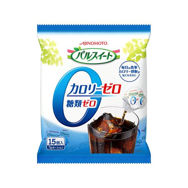 送料無料 パルスイート カロリーゼロ・液体タイプ ポーション(15個/袋) 20袋入り×1ケース (味の素)[砂糖 シュガーシロップ]KK