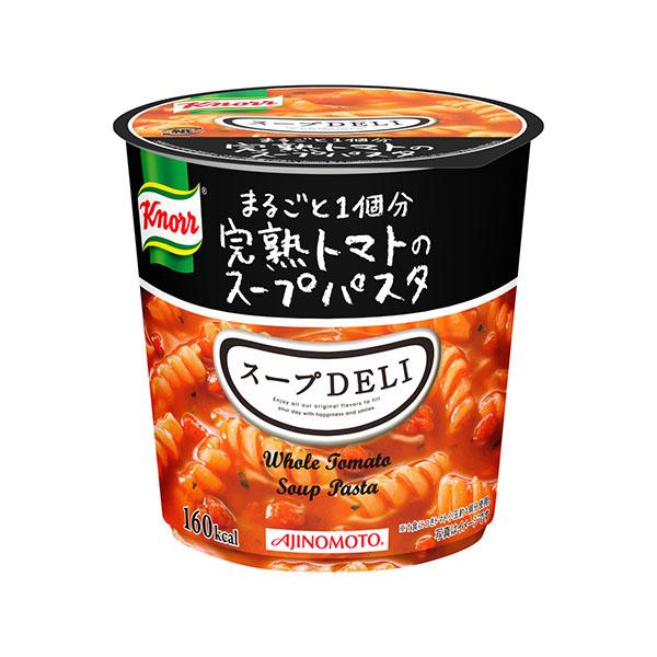 スープDELI まるごと1個分完熟トマトのスープパスタ 12個入り (味の素クノール)[カップスープ]KK
