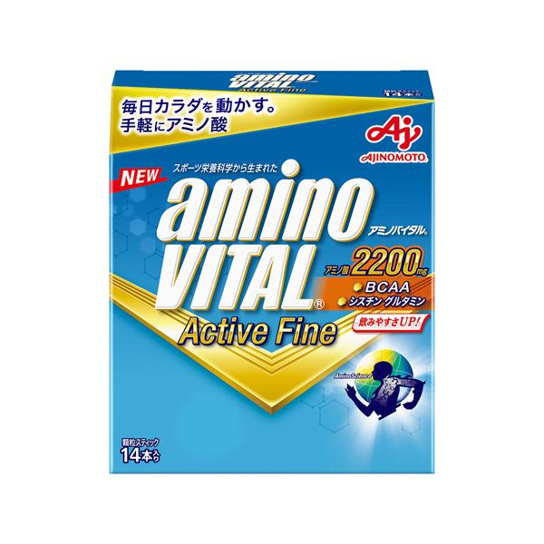 アミノバイタル アクティブファイン 14本入×5箱