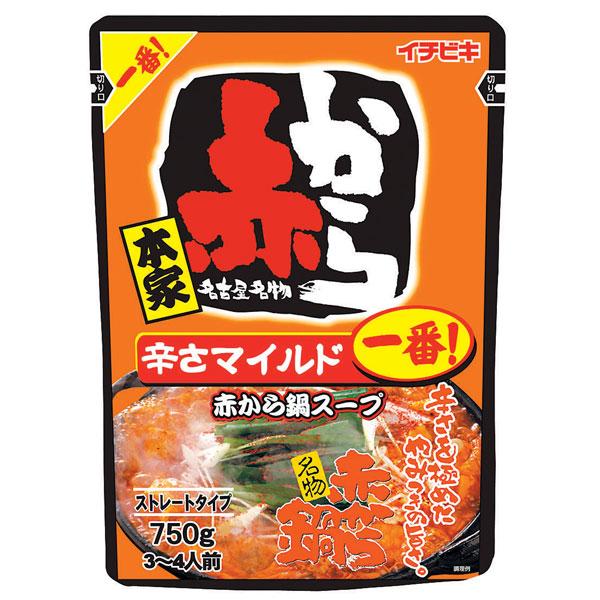 イチビキ ストレート赤から鍋スープ1番 10食入り×1ケース【クレジット決済のみ】KK