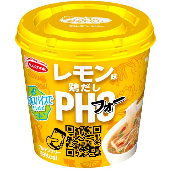 エースコック ハノイのおもてなし レモン味鶏だしフォー 31g×36個入り (6ケース) (MS)