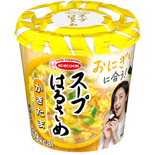 エースコック スープはるさめ かきたま 6個入り×3箱 (計18個)(KT)