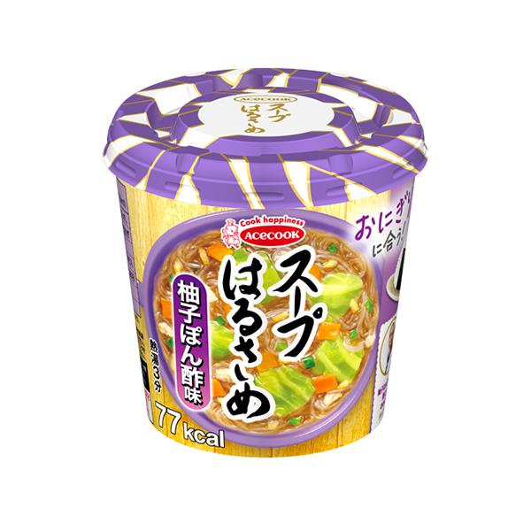 エースコック スープはるさめ 柚子ぽん酢味 32g×36個入り (6ケース) (MS)