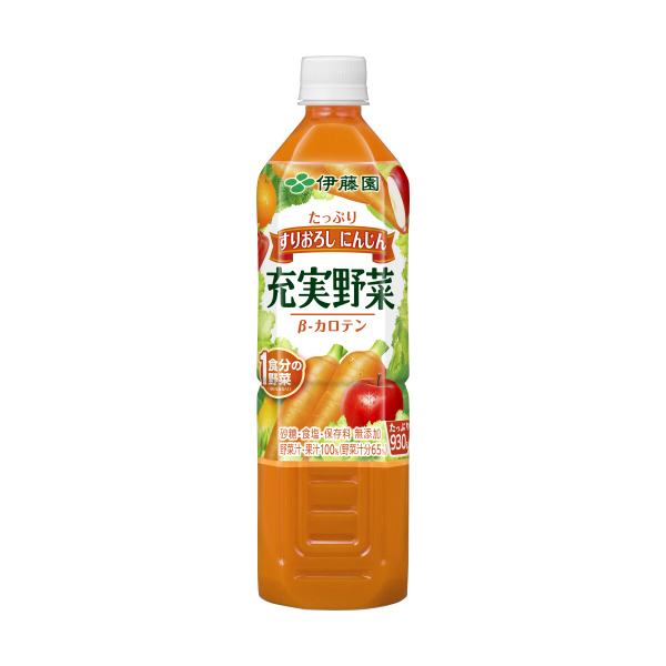 充実野菜 緑黄色野菜ミックス PET930g(1ケース12本) (伊藤園)【クレジット決済のみ】