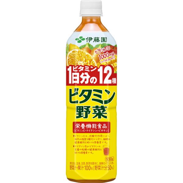 ビタミン野菜 930ml×12本(1ケース)(伊藤園)