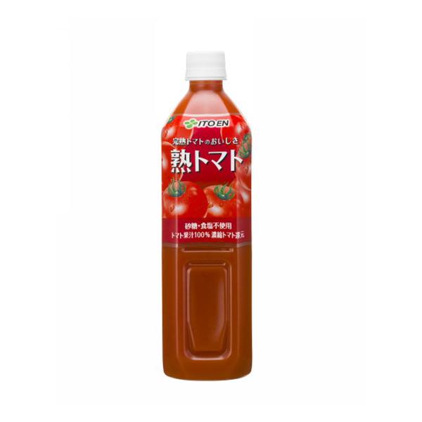 PET熟トマト900g(1ケース12本) (伊藤園)【クレジット決済のみ】