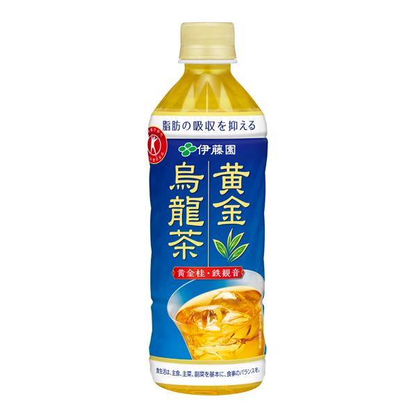 黄金烏龍茶 500ml×24本入り (1ケース)(伊藤園)
