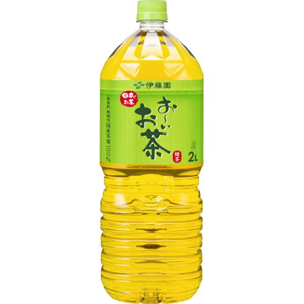 お~いお茶 緑茶 2L×6本(1ケース)(伊藤園)