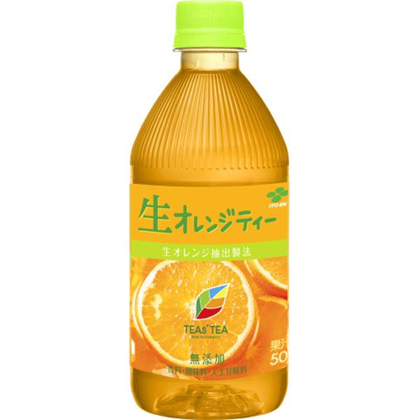 TEAs' TEA NEW AUTHENTIC 生オレンジティー 500ml 24本入り(1ケース)(伊藤園)