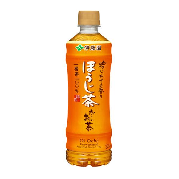 お~いお茶ほうじ茶 525ml×24本入り (1ケース)(伊藤園)