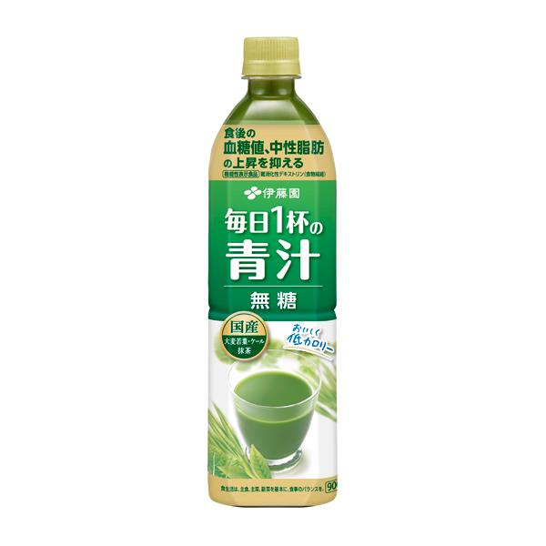 【機能性表示食品】毎日一杯の青汁無糖 900g×12個入り (1ケース)(伊藤園)