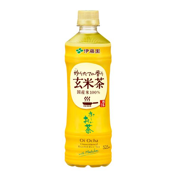 お~いお茶玄米茶 525ml×24本入り (1ケース)(伊藤園)