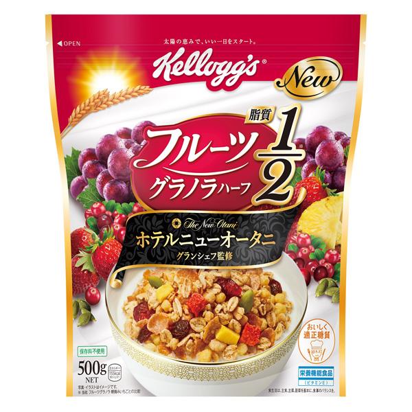 ケロッグ フルーツグラノラハーフ徳用袋 500g×6個入り (1ケース) (KT)