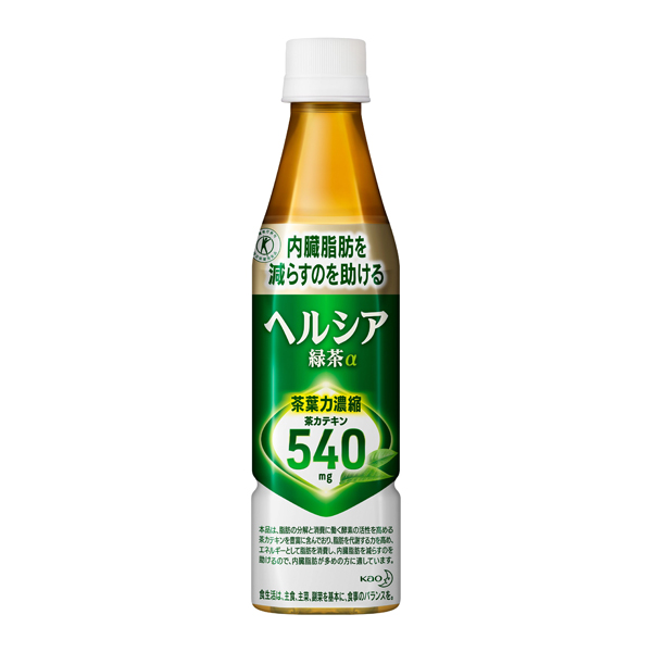 送料無料 ヘルシア緑茶 350ml 24本入り×1ケース (花王)KO