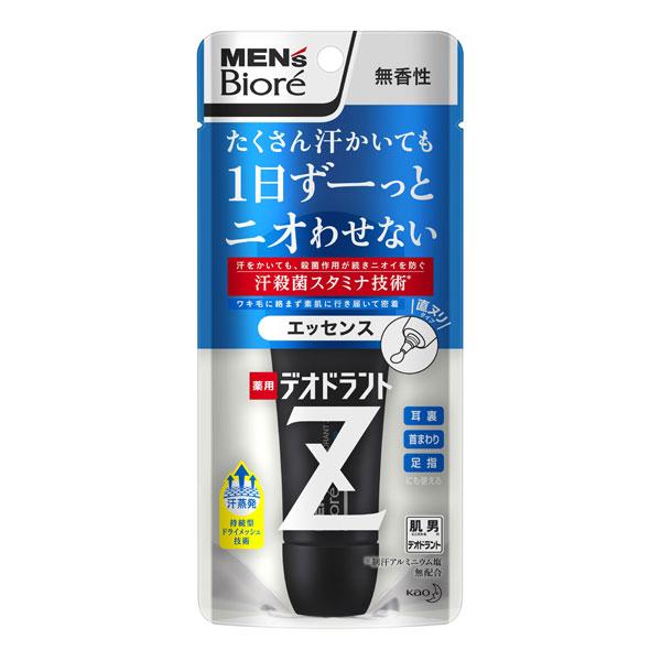 メンズビオレ 薬用デオドラントZ エッセンス無香性40g KO 花王