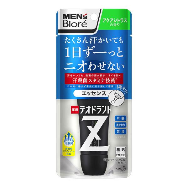 メンズビオレ 薬用デオドラントZ エッセンス アクアシトラスの香り 40g KO 花王