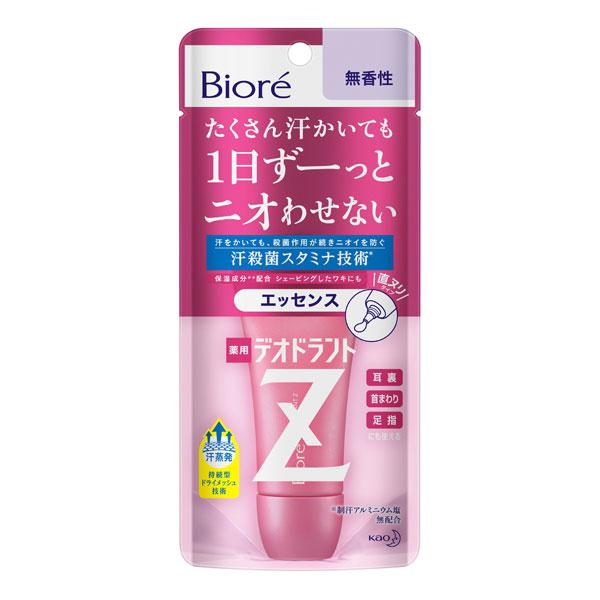 ビオレ 薬用デオドラントZ エッセンス無香性 30g KO 花王