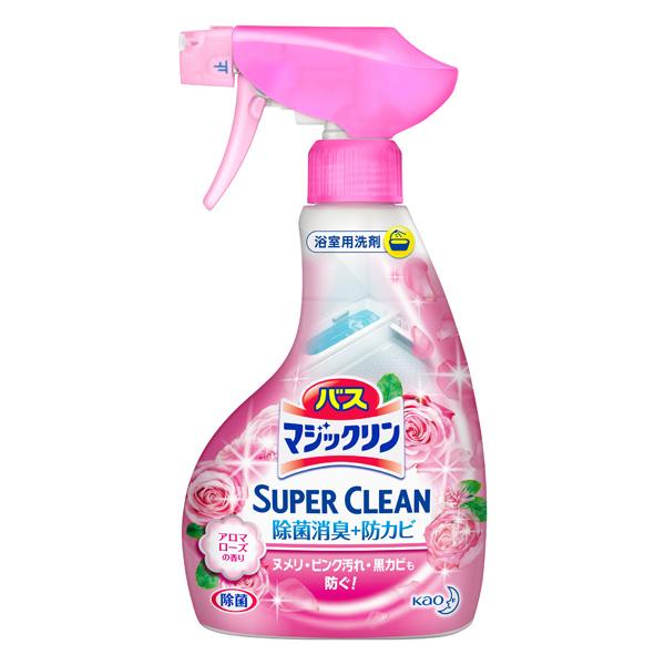 バスマジックリン 泡立ちスプレー SUPER CLEAN アロマローズの香り[本体]KO 花王