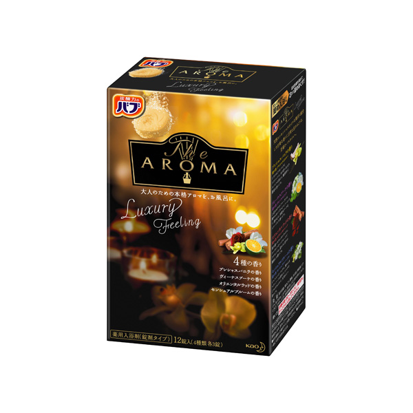バブ The Aroma Luxury Feeling 12錠(医薬部外品) KO 花王