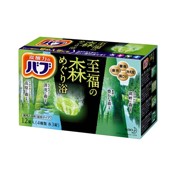 バブ 至福の森めぐり浴  12錠(医薬部外品) KO 花王