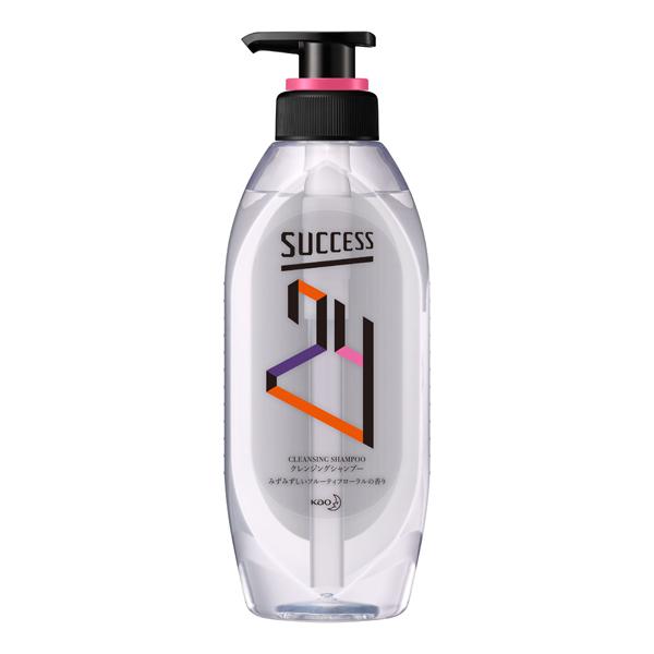 サクセス24クレンジングシャンプー フルーティフローラルの香り 本体 350ml KO 花王