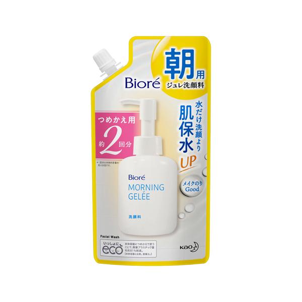 ビオレ 朝用ジュレ洗顔料 つめかえ用2回分 160ml KO 花王