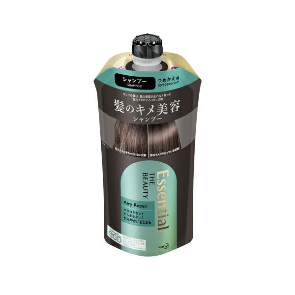エッセンシャル ザビューティ 髪のキメ美容シャンプー エアリーリペア 詰替え 340ml KO 花王