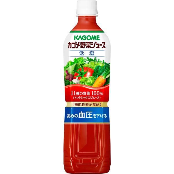 【機能性表示食品】カゴメ 野菜ジュース低塩 720ml 15本入り×1ケース (KT)