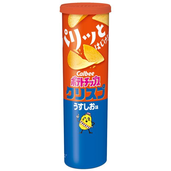 カルビー ポテトチップスクリスプ うすしお味 115g×12個入り (1ケース) (MS)