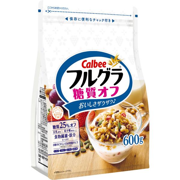 カルビー フルグラ糖質オフ 6袋入り(1ケース)(MS)