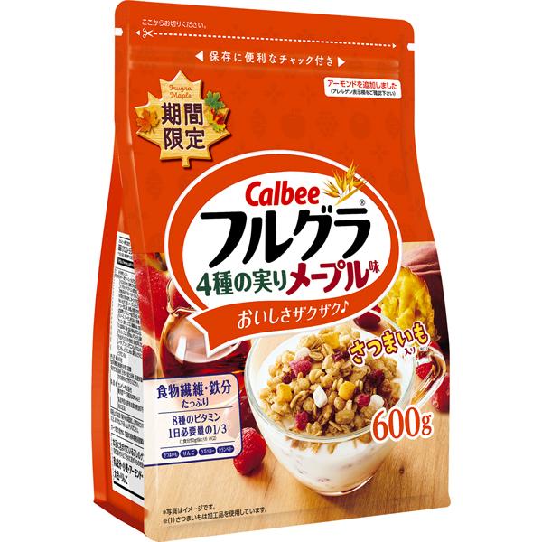 フルグラ4種の実りメープル味 600g×6個入り (1ケース)(SB)