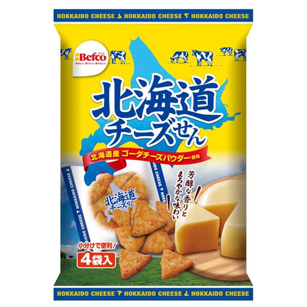 栗山米菓 北海道チーズせん 72g×12個入り (1ケース) (MS)