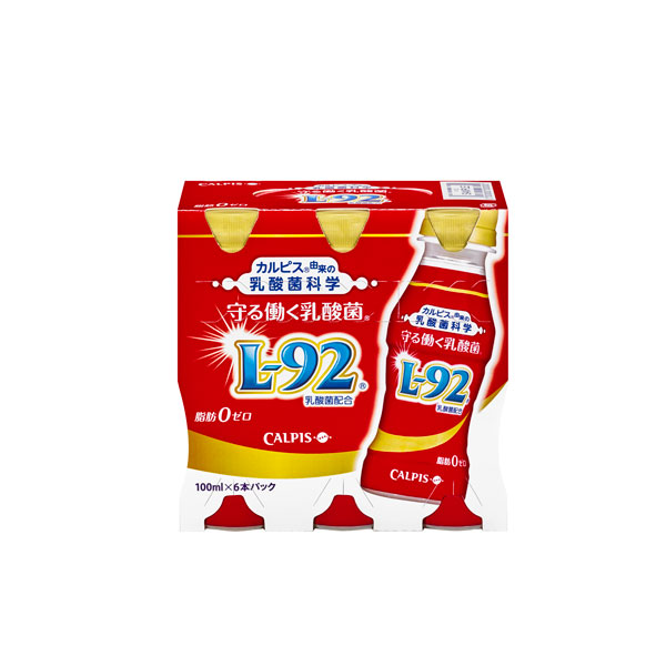 カルピス 守る働く乳酸菌 100ml 6本入り×5ケース(30本)【クレジット決済のみ】(KT)