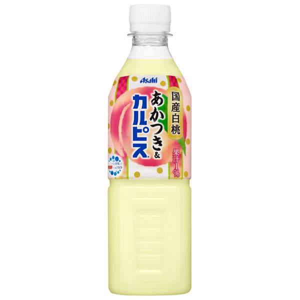 カルピス あかつき&カルピス 500ml×24本入り (1ケース) (KT)